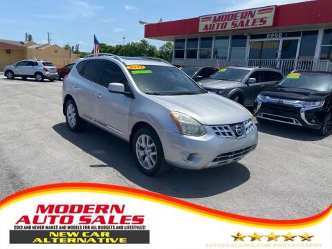 2011 Nissan Rogue for sale at Modern Auto Sales in Hollywood FL