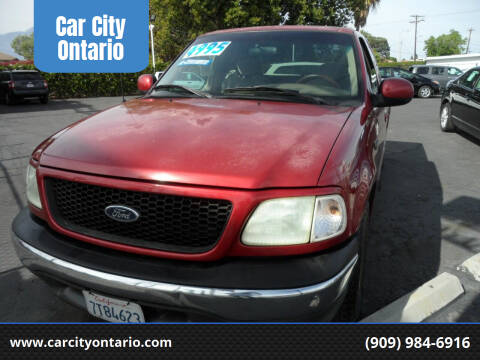 2002 Ford F-150 for sale at Car City Ontario in Ontario CA