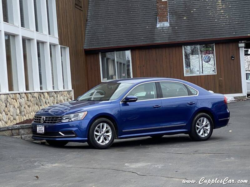 2017 Volkswagen Passat for sale at Cupples Car Company in Belmont NH