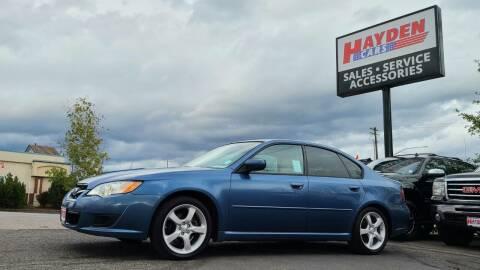 2008 Subaru Legacy for sale at Hayden Cars in Coeur D Alene ID