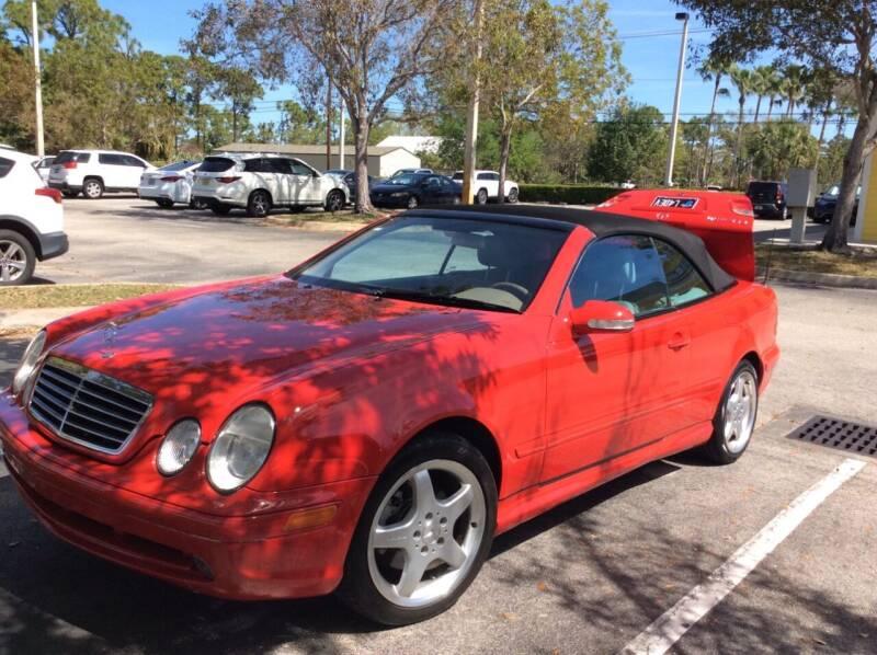 2002 Mercedes-Benz CLK for sale at American Classics Autotrader LLC in Pompano Beach FL