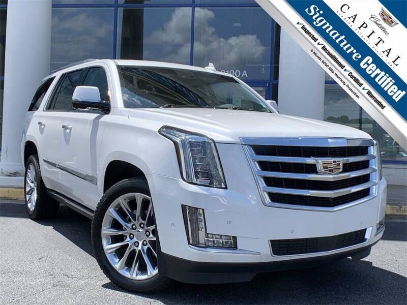 2017 Cadillac Escalade for sale at Capital Cadillac of Atlanta in Smyrna GA