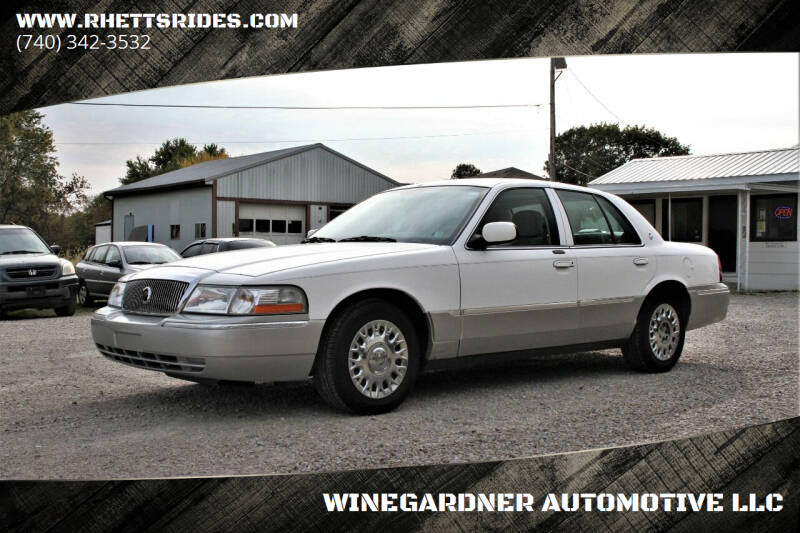 2004 Mercury Grand Marquis for sale at WINEGARDNER AUTOMOTIVE LLC in New Lexington OH