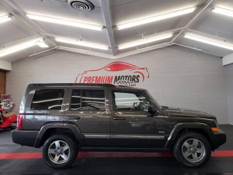 2006 Jeep Commander for sale at Premium Motors in Villa Park IL