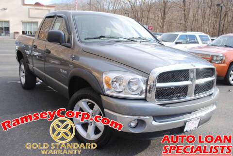 2008 Dodge Ram Pickup 1500 for sale at Ramsey Corp. in West Milford NJ
