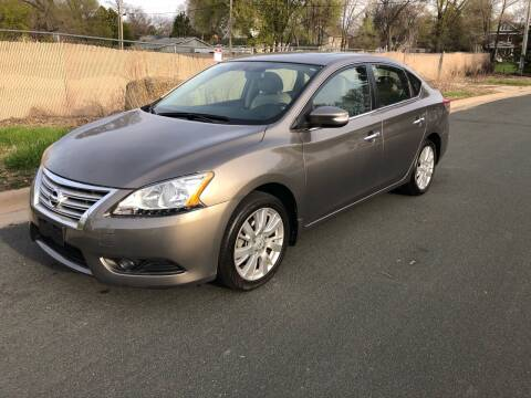 2015 Nissan Sentra for sale at ONG Auto in Farmington MN