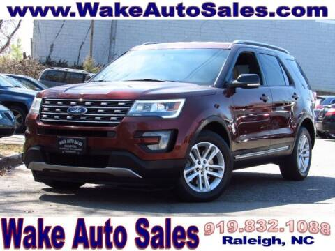 2016 Ford Explorer for sale at Wake Auto Sales Inc in Raleigh NC