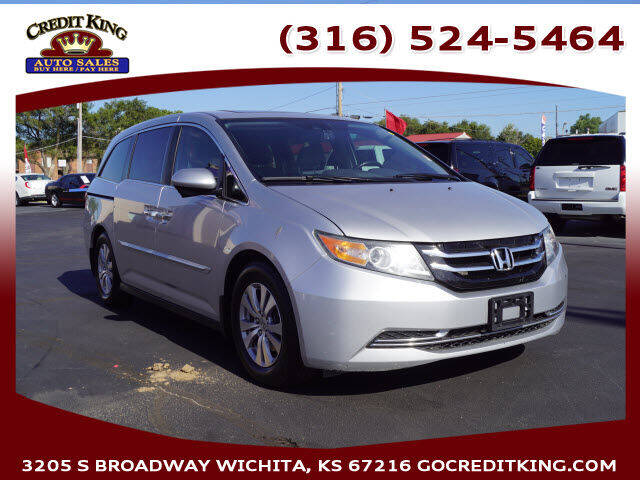 2015 Honda Odyssey for sale at Credit King Auto Sales in Wichita KS