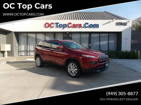2017 Jeep Cherokee for sale at OC Top Cars in Irvine CA