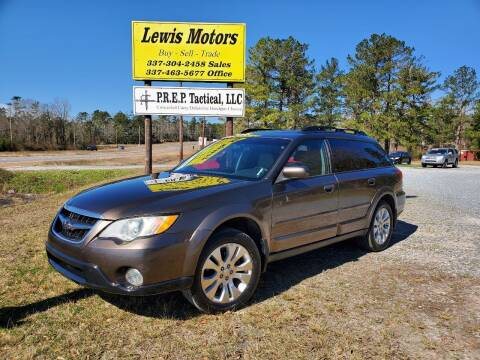 2009 Subaru Outback for sale at Lewis Motors LLC in Deridder LA
