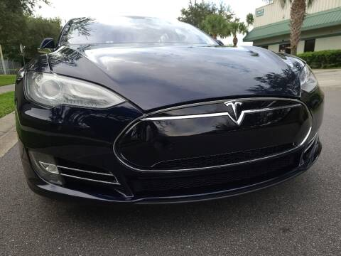 2013 Tesla Model S for sale at Monaco Motor Group in Orlando FL