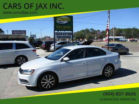 2017 Volkswagen Jetta for sale at CARS OF JAX INC. in Jacksonville FL