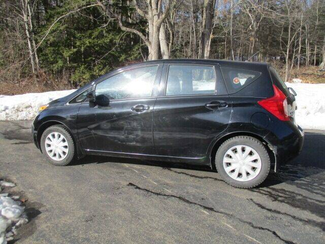 2015 Nissan Versa Note for sale at Route 4 Motors INC in Epsom NH