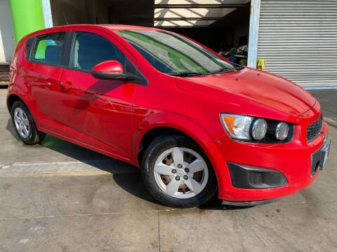 2013 Chevrolet Sonic for sale at Luxury Auto Lounge in Costa Mesa CA
