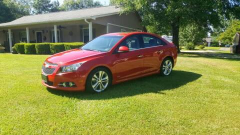 2012 Chevrolet Cruze for sale at Victory Auto Sales LLC in Mooreville MS