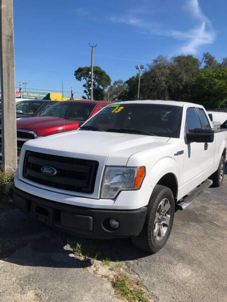 2013 Ford F-150 for sale at H.A. Twins Corp in Miami FL
