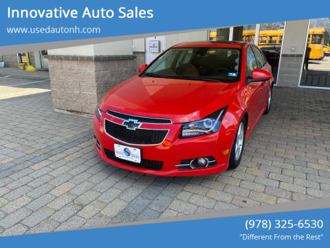 2014 Chevrolet Cruze for sale at Innovative Auto Sales in North Hampton NH