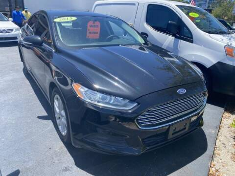 2015 Ford Fusion for sale at Mike Auto Sales in West Palm Beach FL