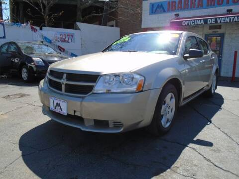 2008 Dodge Avenger for sale at IBARRA MOTORS INC in Cicero IL