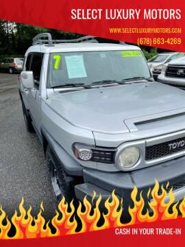2007 Toyota FJ Cruiser for sale at Select Luxury Motors in Cumming GA