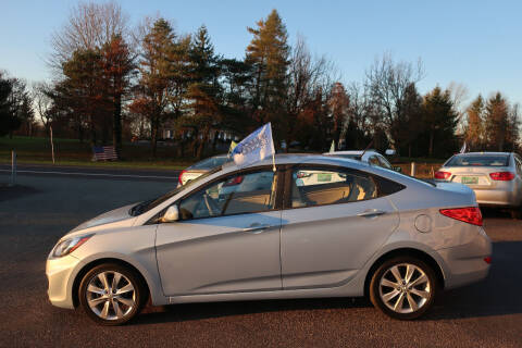 2012 Hyundai Accent for sale at GEG Automotive in Gilbertsville PA