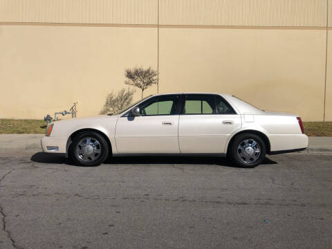 2003 Cadillac DeVille for sale at HIGH-LINE MOTOR SPORTS in Brea CA