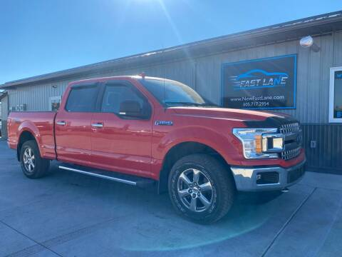 2018 Ford F-150 for sale at FAST LANE AUTOS in Spearfish SD