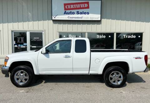 2012 GMC Canyon for sale at Certified Auto Sales in Des Moines IA