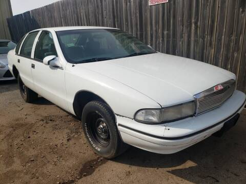 1995 Chevrolet Caprice for sale at Hy-Way Sales Inc in Kenosha WI