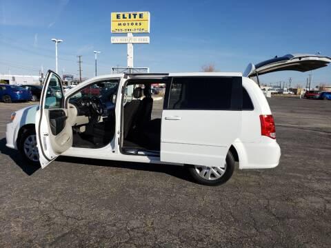 2017 Dodge Grand Caravan for sale at ELITE MOTORS in Victorville CA