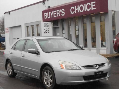 2003 Honda Accord for sale at Buyers Choice Auto Sales in Bedford OH