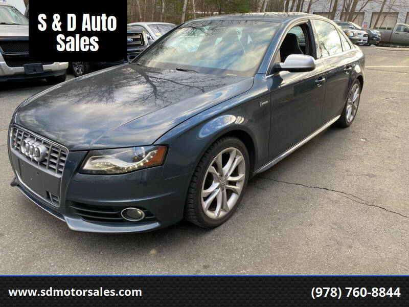 2011 Audi S4 for sale at S & D Auto Sales in Maynard MA