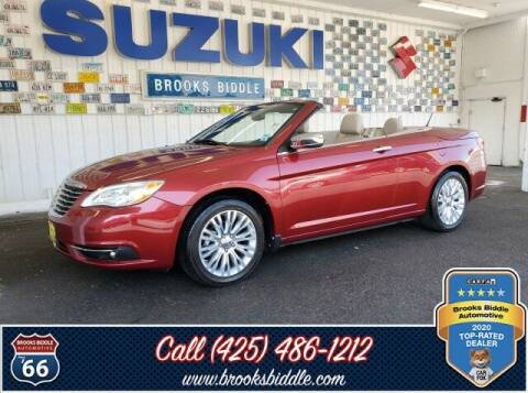 2011 Chrysler 200 Convertible for sale at BROOKS BIDDLE AUTOMOTIVE in Bothell WA