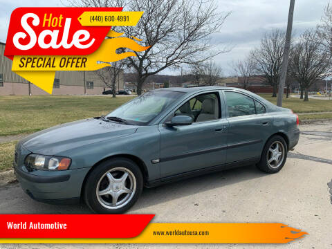 2004 Volvo S60 for sale at World Automotive in Euclid OH
