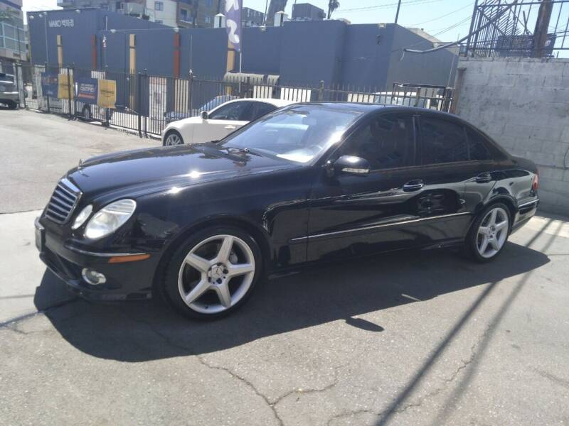 2009 Mercedes-Benz E-Class for sale at Western Motors Inc in Los Angeles CA