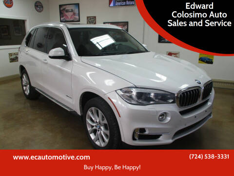 2014 BMW X5 for sale at Edward Colosimo Auto Sales and Service in Evans City PA