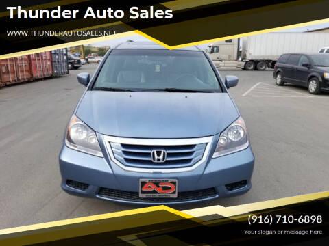 2008 Honda Odyssey for sale at Thunder Auto Sales in Sacramento CA