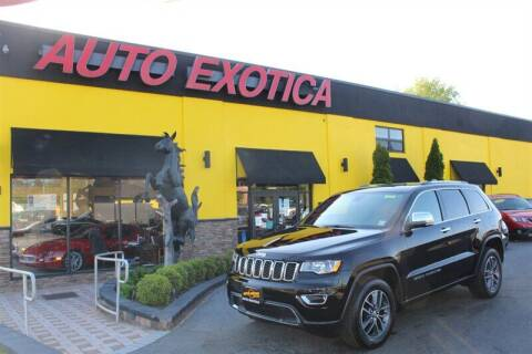 2018 Jeep Grand Cherokee for sale at Auto Exotica in Red Bank NJ