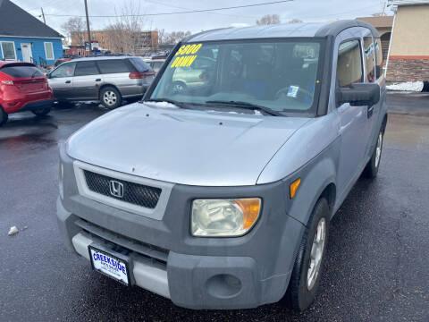 2005 Honda Element for sale at Creekside Auto Sales in Pocatello ID
