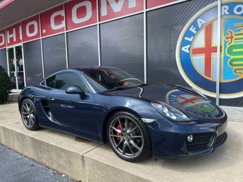 2016 Porsche Cayman for sale at Alfa Romeo & Fiat of Strongsville in Strongsville OH