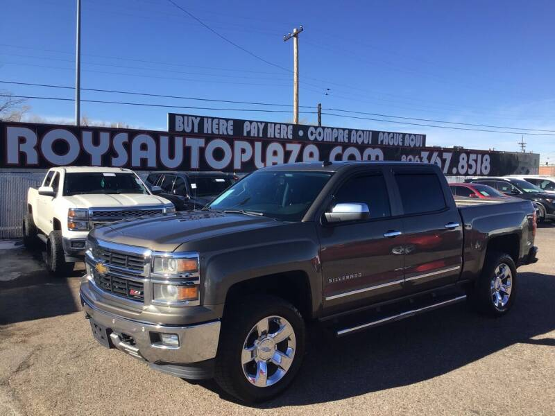2014 Chevrolet Silverado 1500 for sale at Roy's Auto Plaza in Amarillo TX