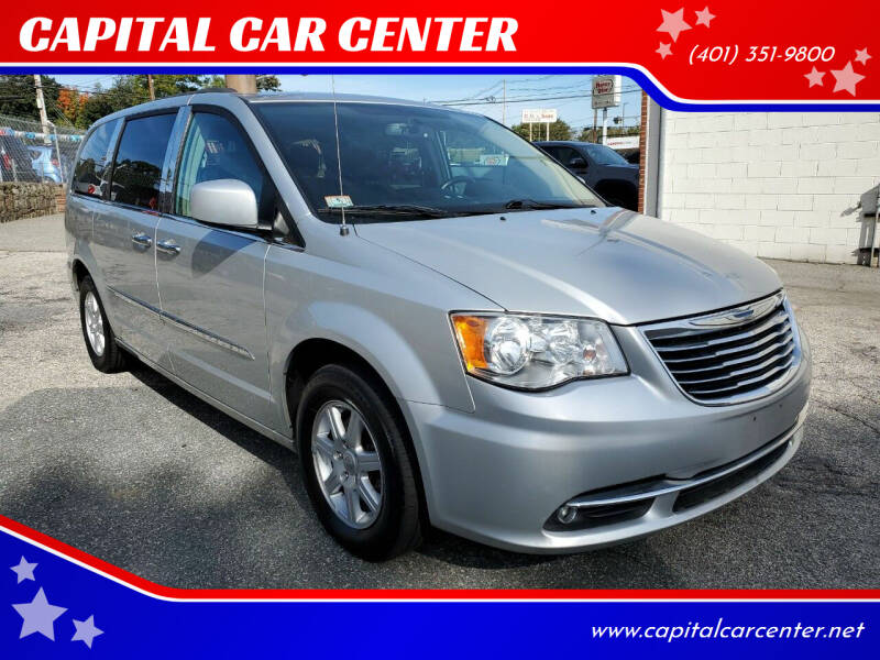 2012 Chrysler Town and Country for sale at CAPITAL CAR CENTER in Providence RI