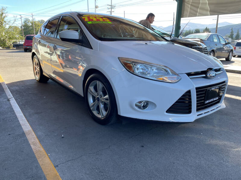2012 Ford Focus for sale at Low Auto Sales in Sedro Woolley WA