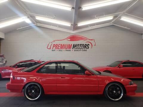 1992 Acura Integra for sale at Premium Motors in Villa Park IL