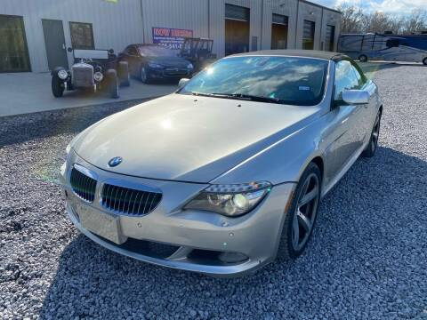 2008 BMW 6 Series for sale at Alpha Automotive in Odenville AL