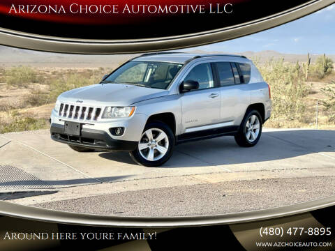 2012 Jeep Compass for sale at Arizona Choice Automotive LLC in Mesa AZ
