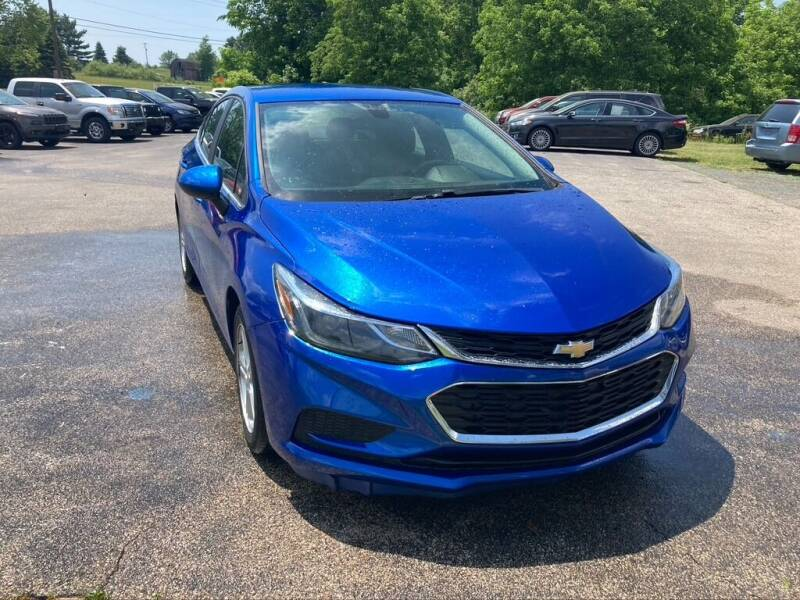 2017 Chevrolet Cruze for sale at Deals on Wheels Auto Sales in Scottville MI