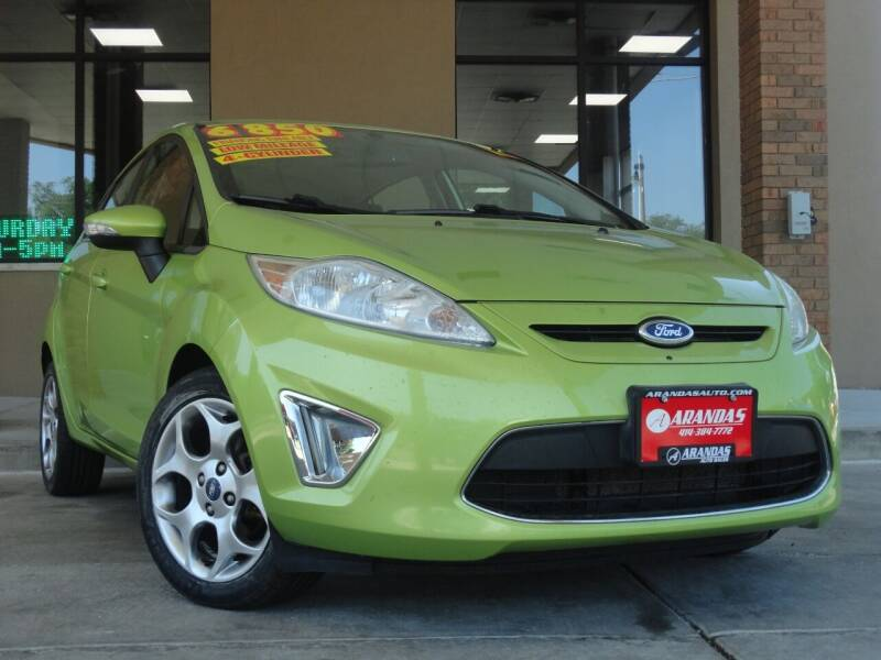 2011 Ford Fiesta for sale at Arandas Auto Sales in Milwaukee WI