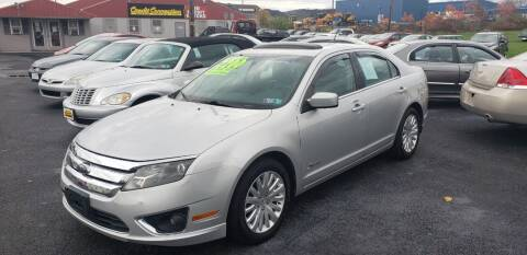 2010 Ford Fusion Hybrid for sale at Credit Connection Auto Sales Inc. CARLISLE in Carlisle PA