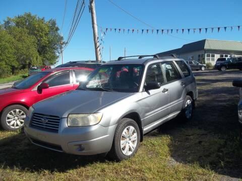 2008 Subaru Forester for sale at Warner's Auto Body of Granville Inc in Granville NY